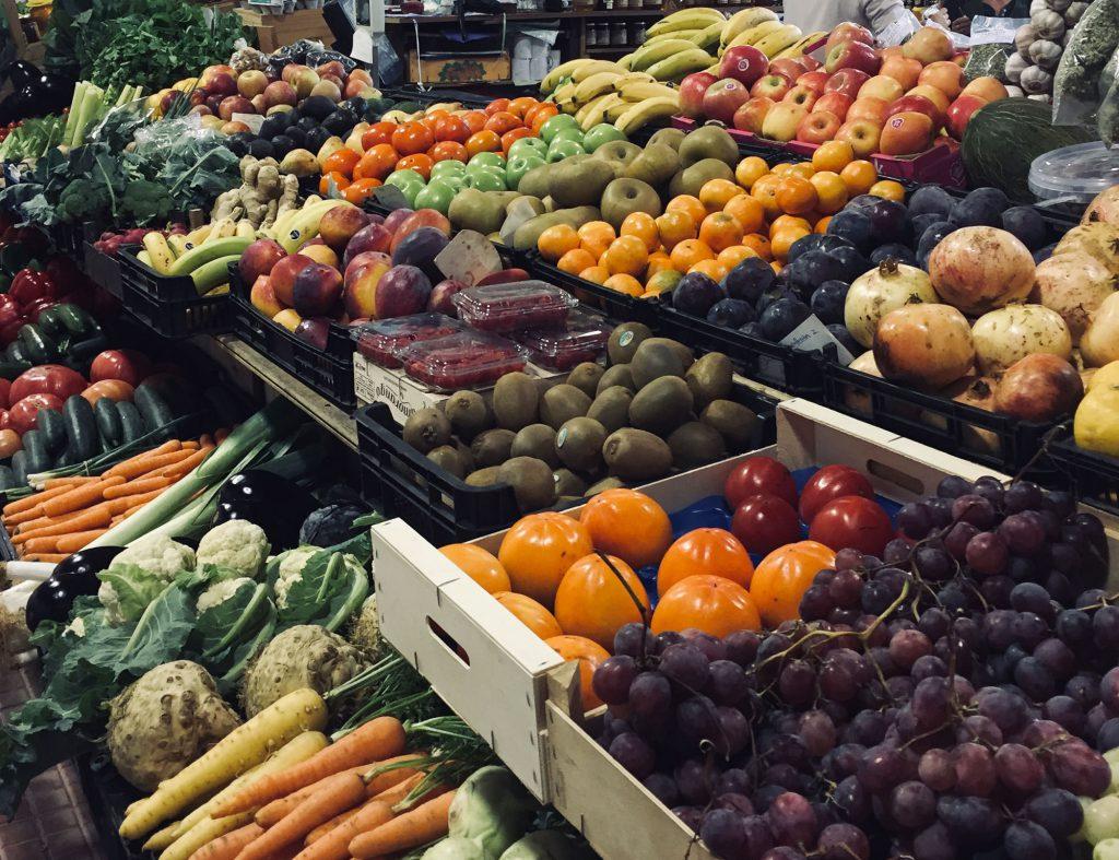 Marktstand in der Algarve