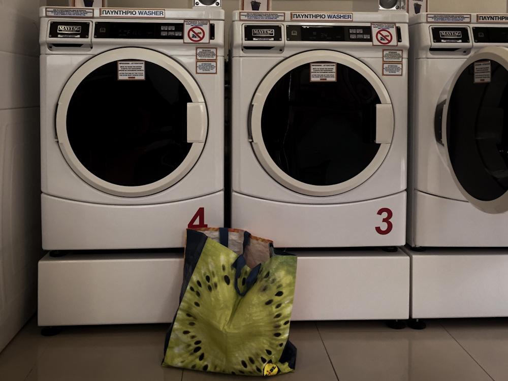 Waschsalons in Griechenland