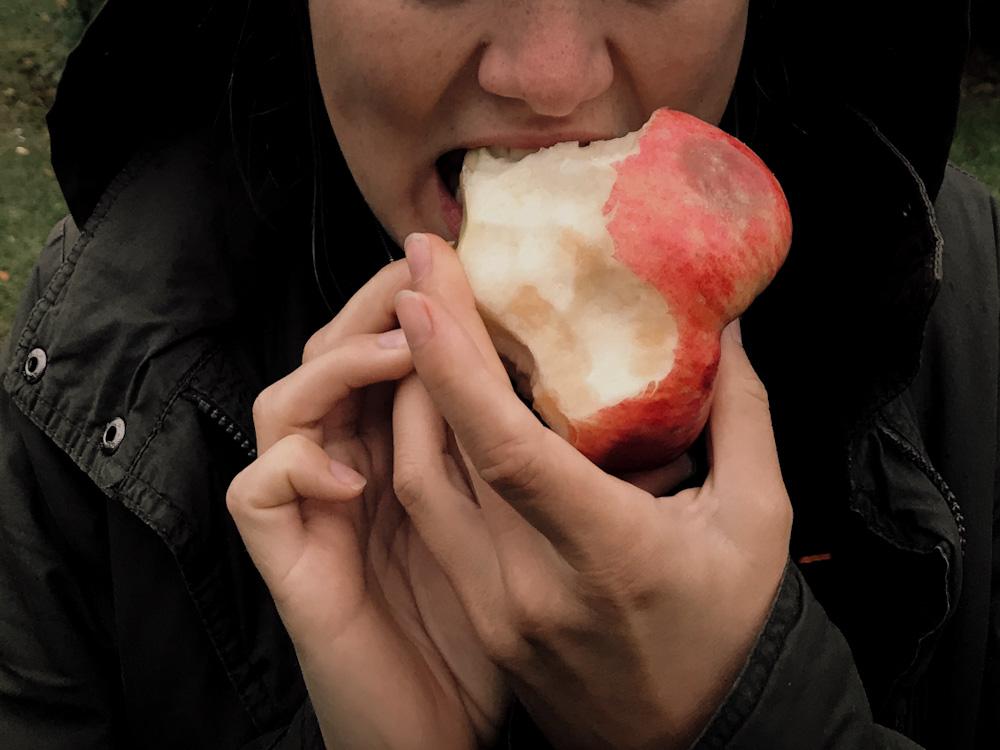 Nachhaltige Reise-Vorsätze: Mehr Äpfel essen