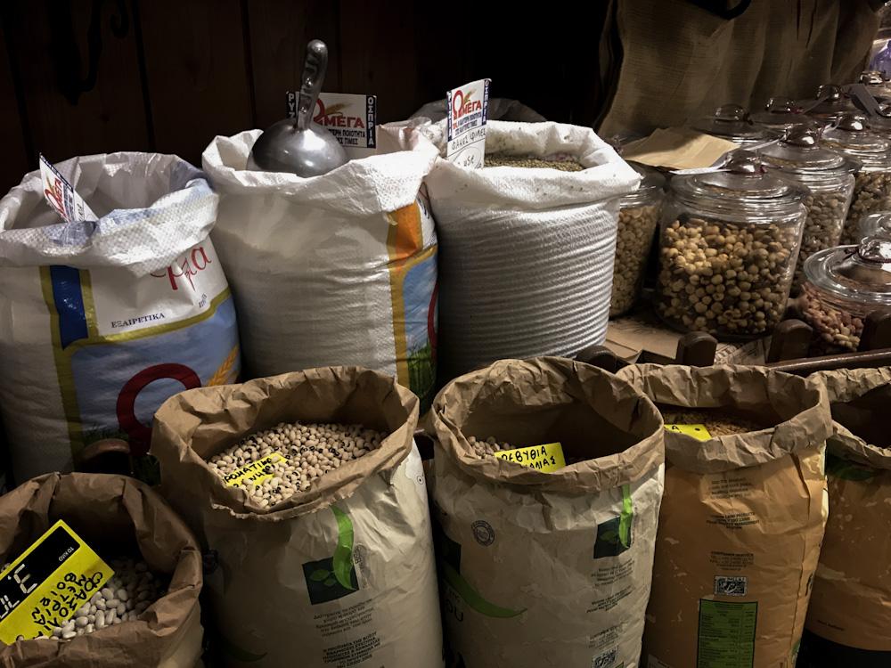 Müll vermeiden in Griechenland: Lose Lebensmittel
