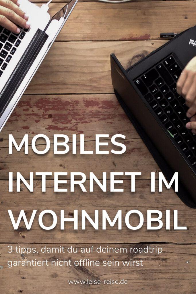Mobiles Internet im Wohnmobil